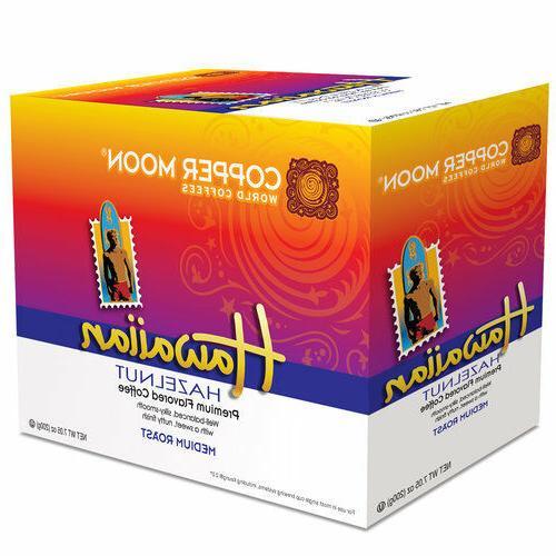 Copper Moon Hawaiian Hazelnut Coffee 20 to 80 Keurig K cups