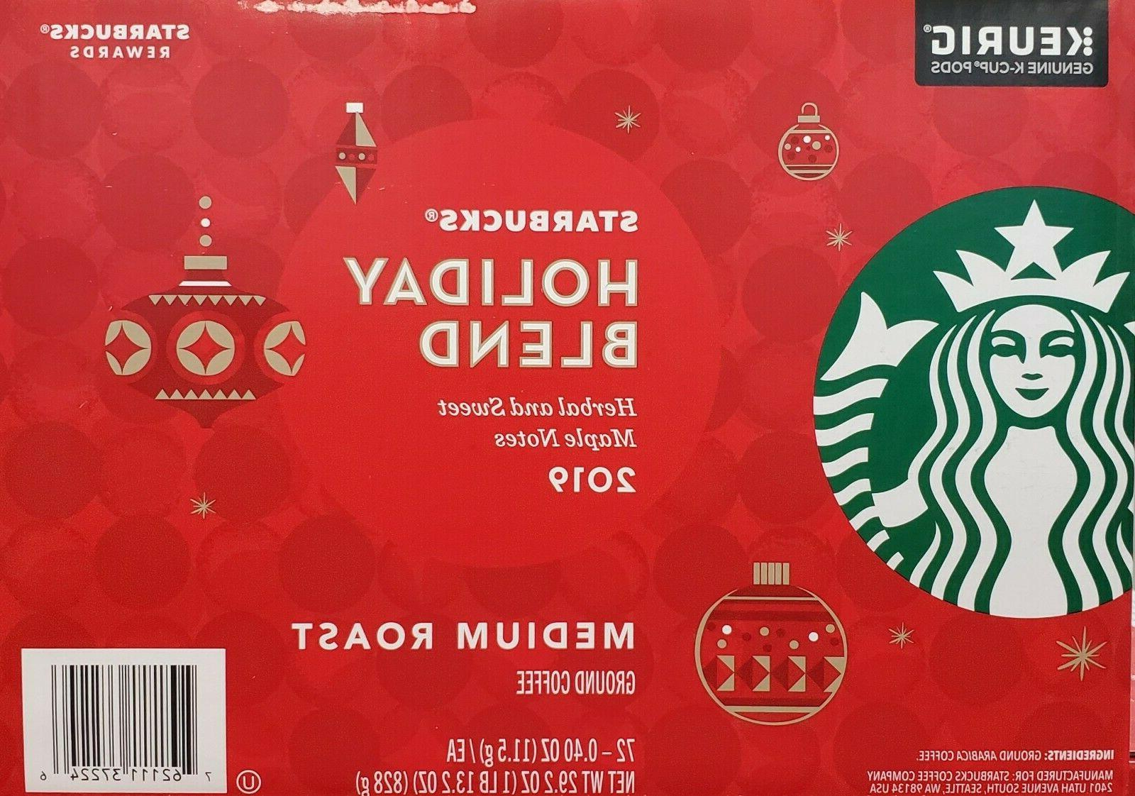 Starbucks Holiday Blend - Medium 72 Cups