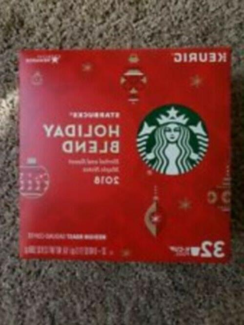 holiday blend coffee k cups 32count exp