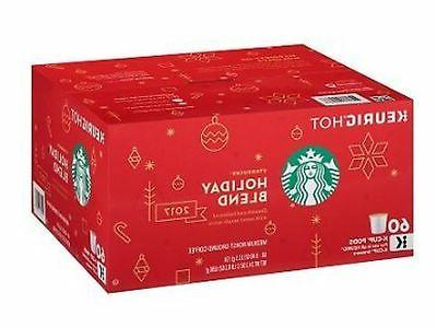 holiday blend coffee k cups 60 count