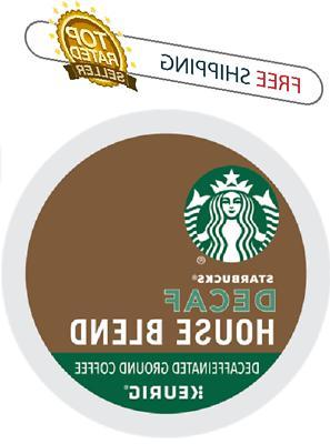Starbucks House Blend Decaf Keurig K-cups Coffee PICK THE SI