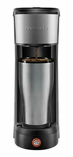 Chefman Instacoffee Single Serve Brewer Compatible with K-cu
