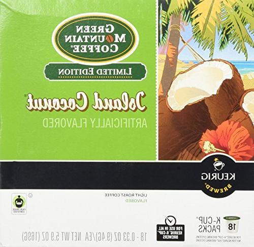 Green Mountain Coffee Coconut -