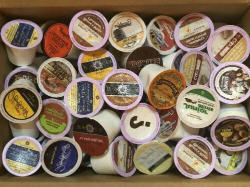 Two Rivers Flavored Sampler Pack Single-Cup Coffee for Keuri