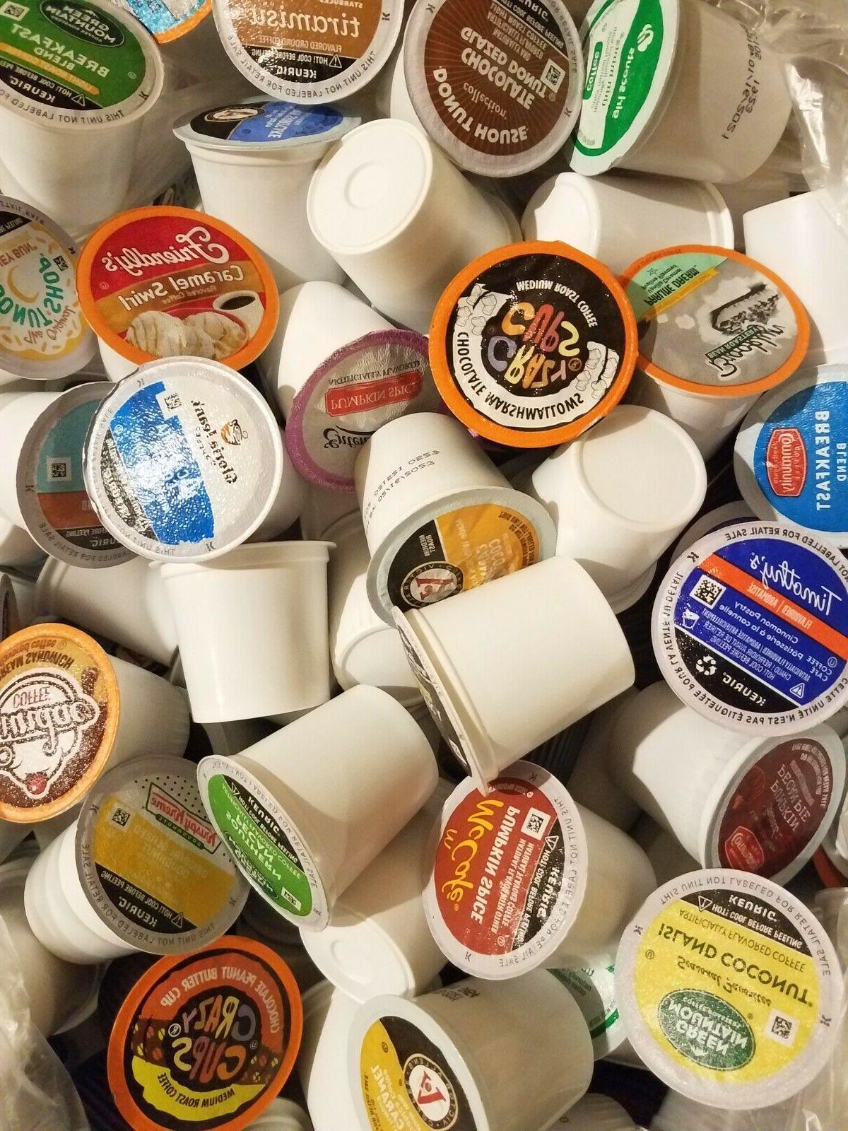 100 coffee k cups variety sampler pack