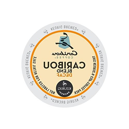 48 Count Kcups Caribou Coffee 'CARIBOU BLEND DECAF'  - FRESH