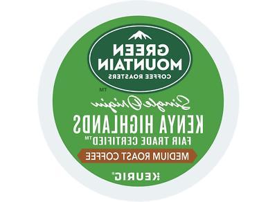 Green Mountain Coffee Kenya Medium Roast Coffee Keurig K-Cup