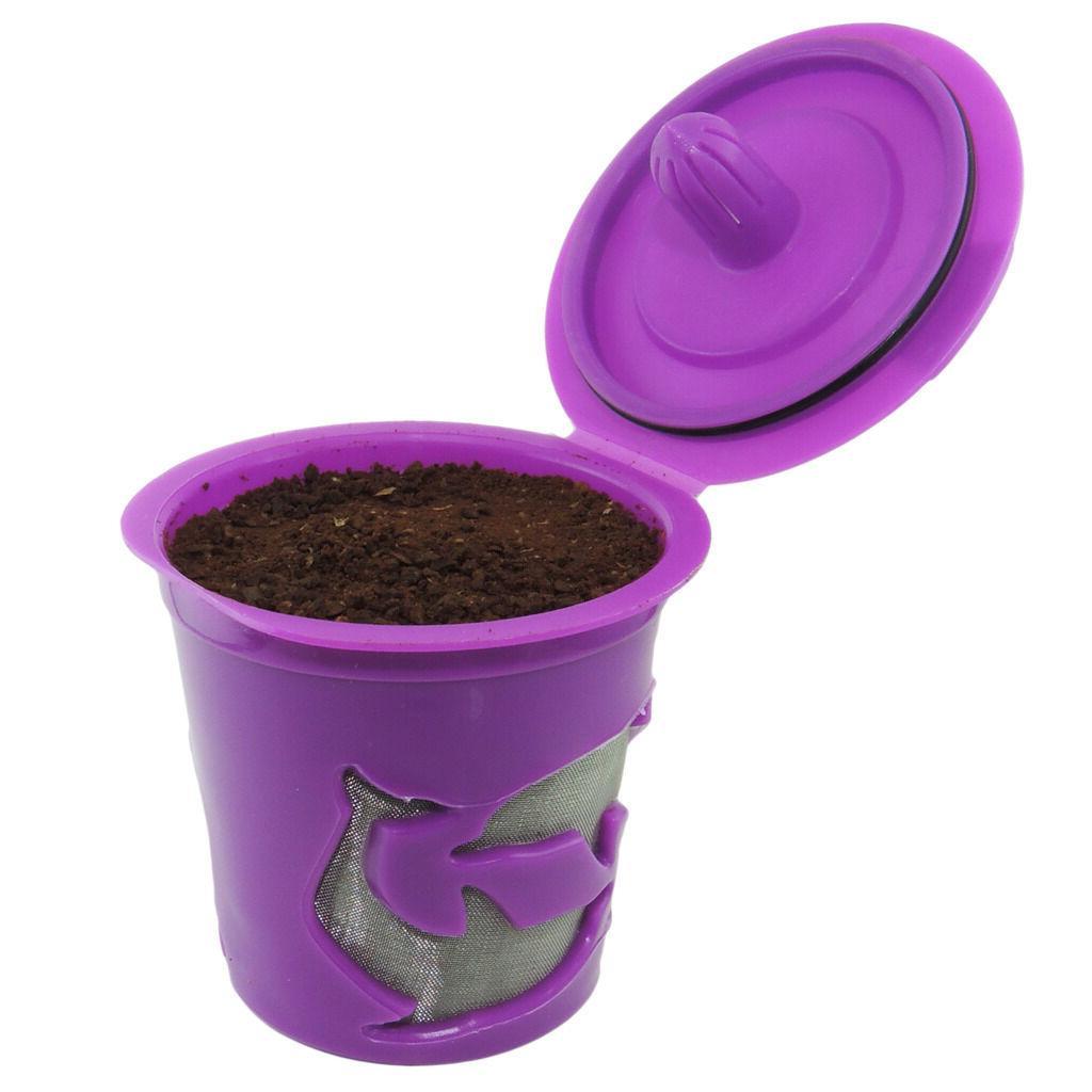Keurig 2.0 K-cups Refillable Reusable K cup Filter Pod Set f