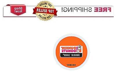 DUNKIN DONUTS DARK ROAST Keurig K-cups Coffee PICK THE SIZE