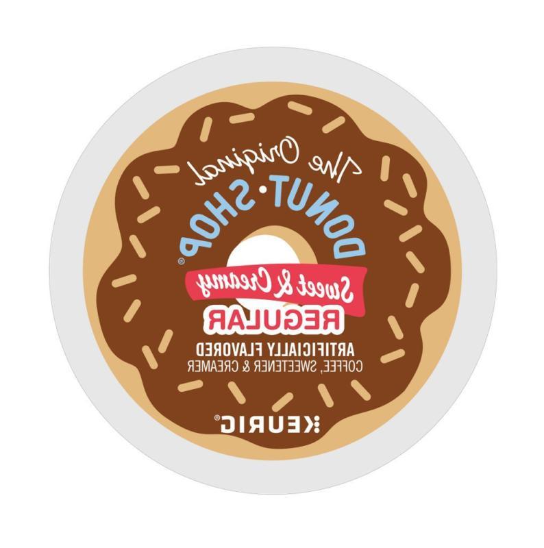 Keurig Hot The Original Donut Shop Sweet and Creamy Regular