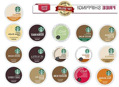 Starbucks Keurig K-cups Coffee PICK THE FLAVOR & SIZE
