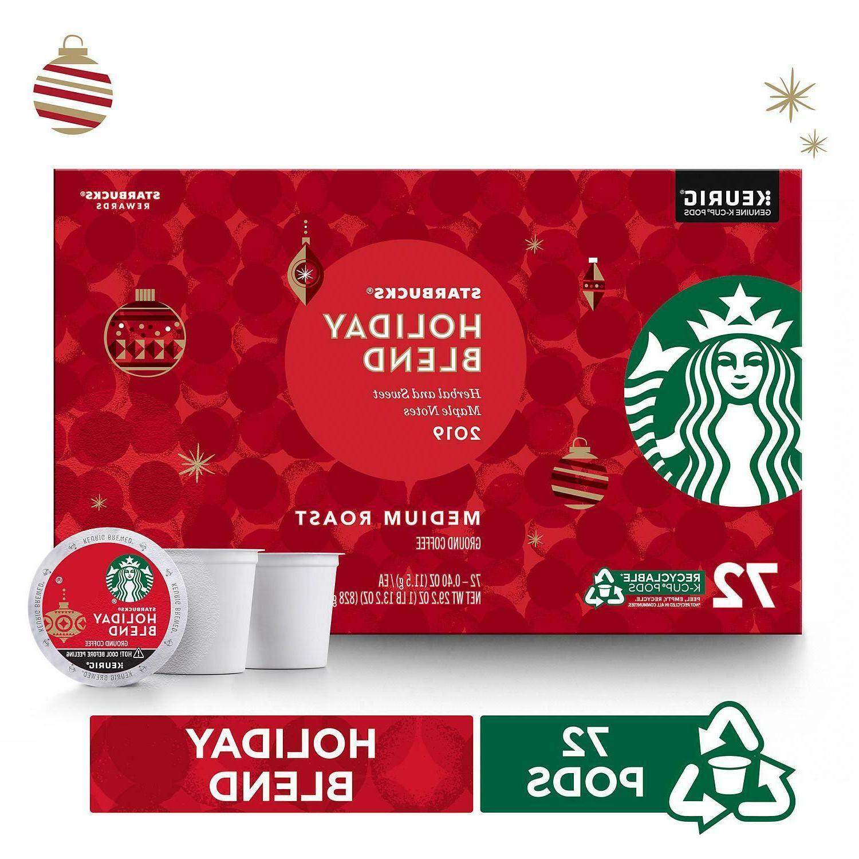 Starbucks Holiday Blend 2019 - Medium Roast - 72 Count Keuri