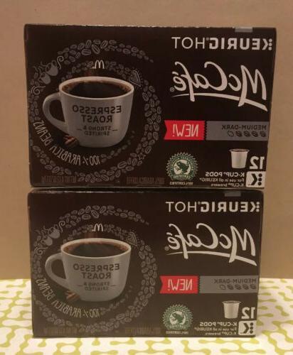 mccafe espresso roast coffee keurig