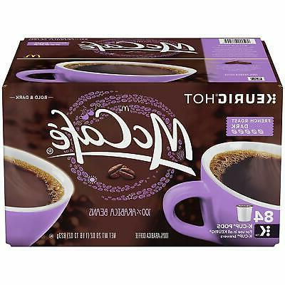 mccafe french roast dark coffee k cups