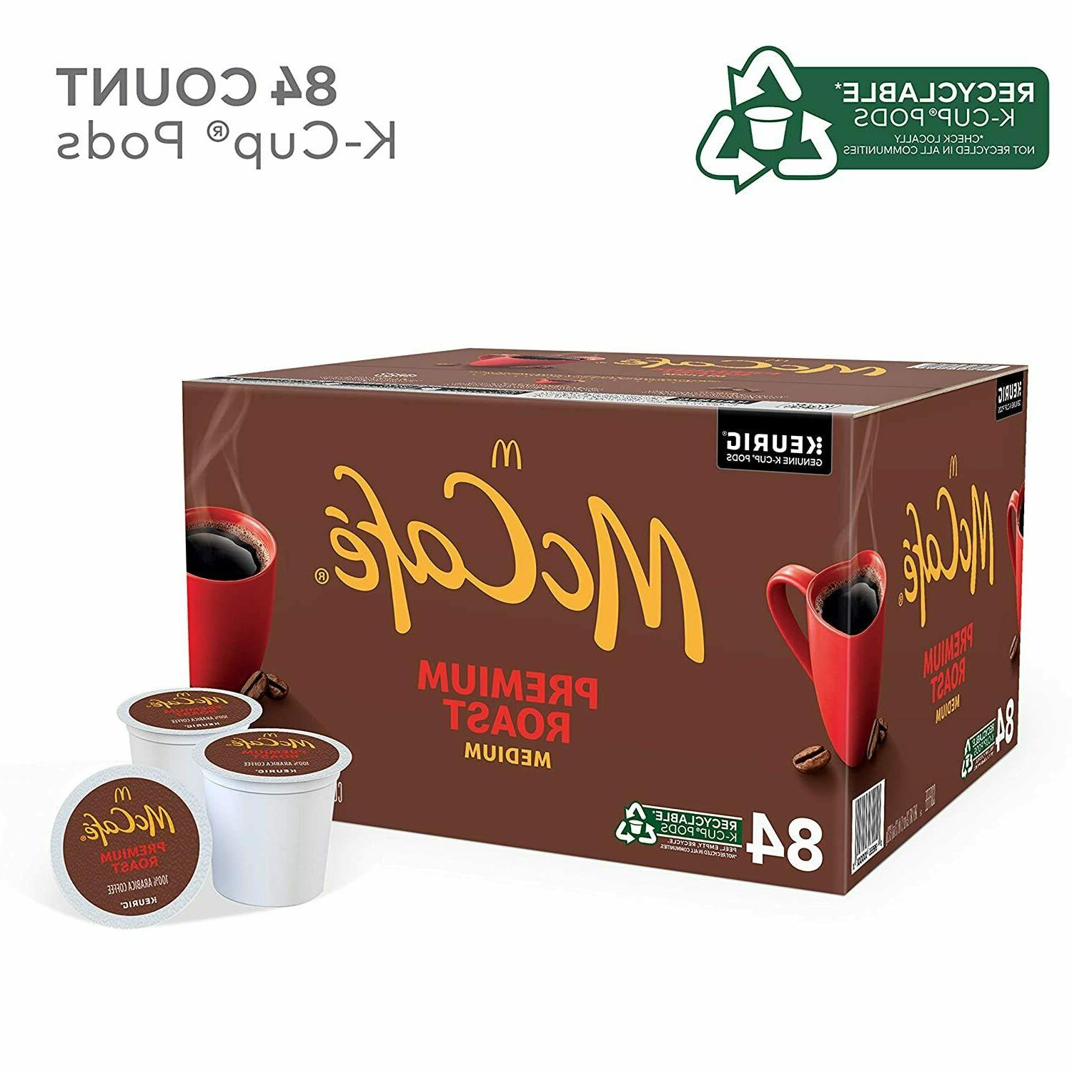 McCafé Medium Roast K-Cup Coffee Pods Count