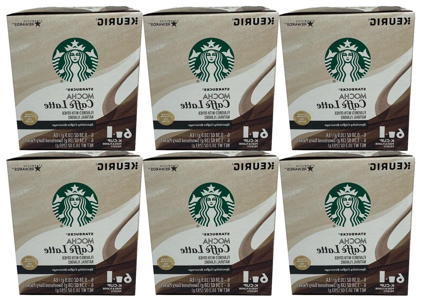 mocha caffe latte coffee beverage k cups