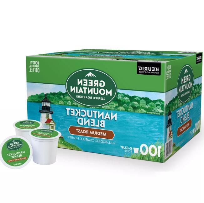Green Mountain Nantucket Blend Medium Roast Coffee Keurig K-