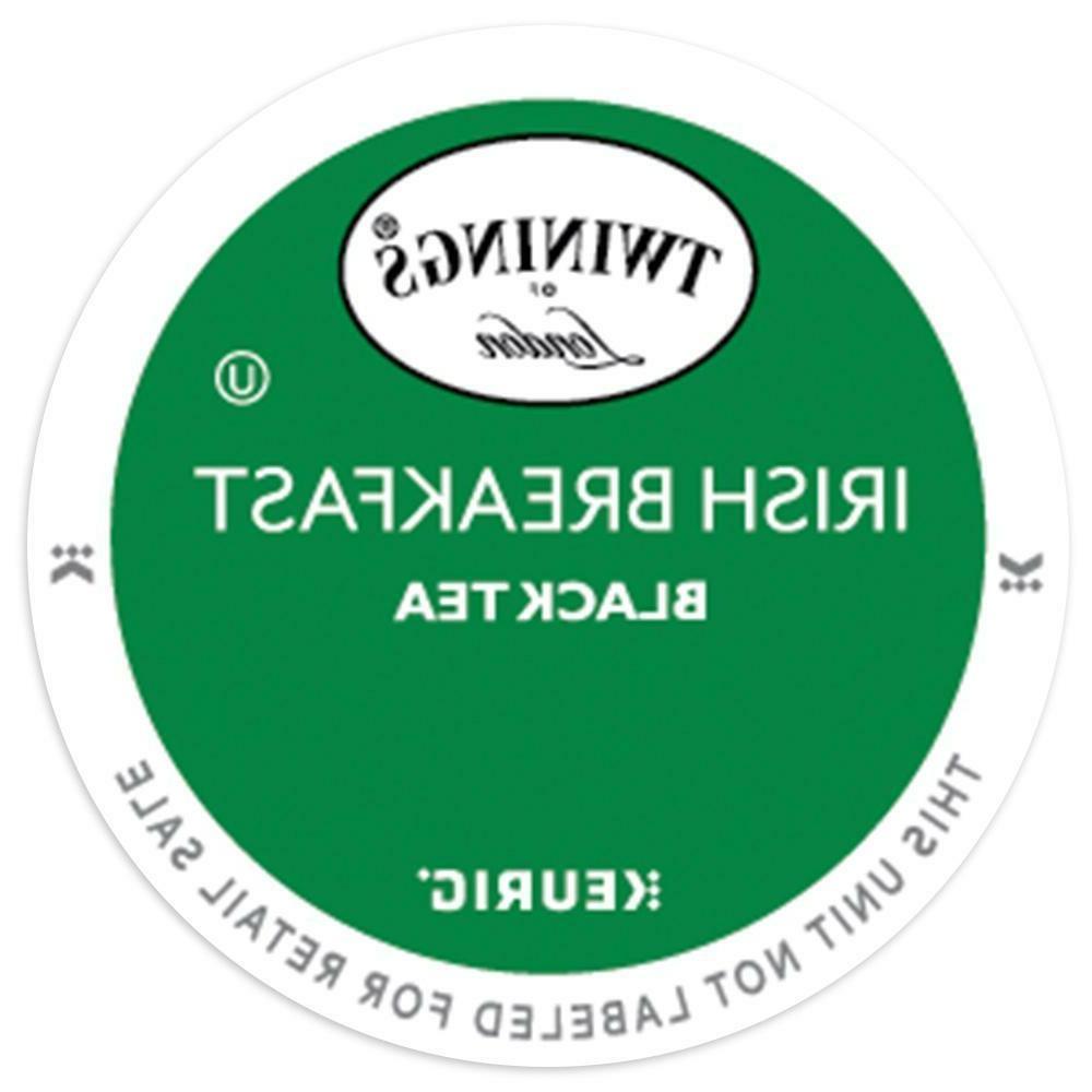 Twinings Irish Breakfast Black Tea 24 to 144 Count Keurig K