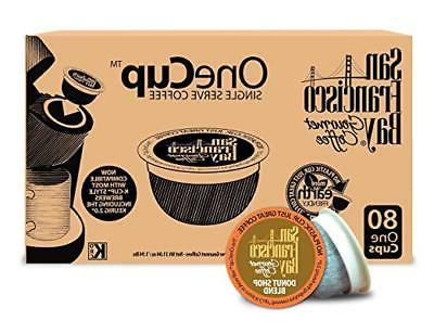 San Francisco Bay OneCup Donut Shop Blend Coffee Compostable