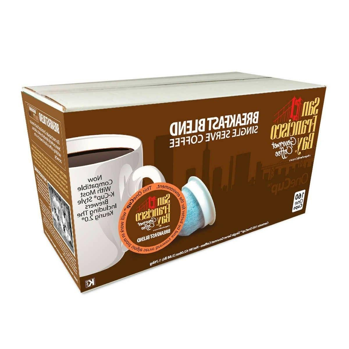 San Francisco Bay Coffee, OneCup Single Serve Cups 160 k cup