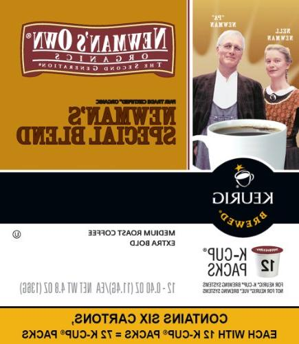Newman's Organics Blend, Keurig K-Cups, 72 Count