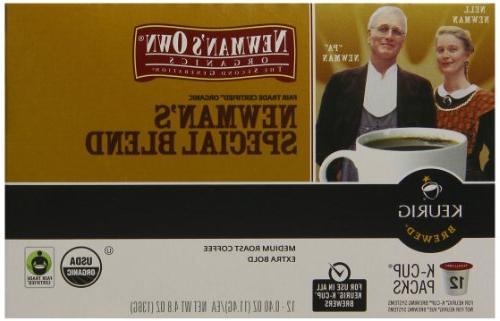 Newman's Organics Blend, Keurig K-Cups, Count