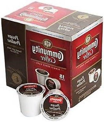 Community Coffee Pecan Praline Medium Roast Coffee Keurig K-