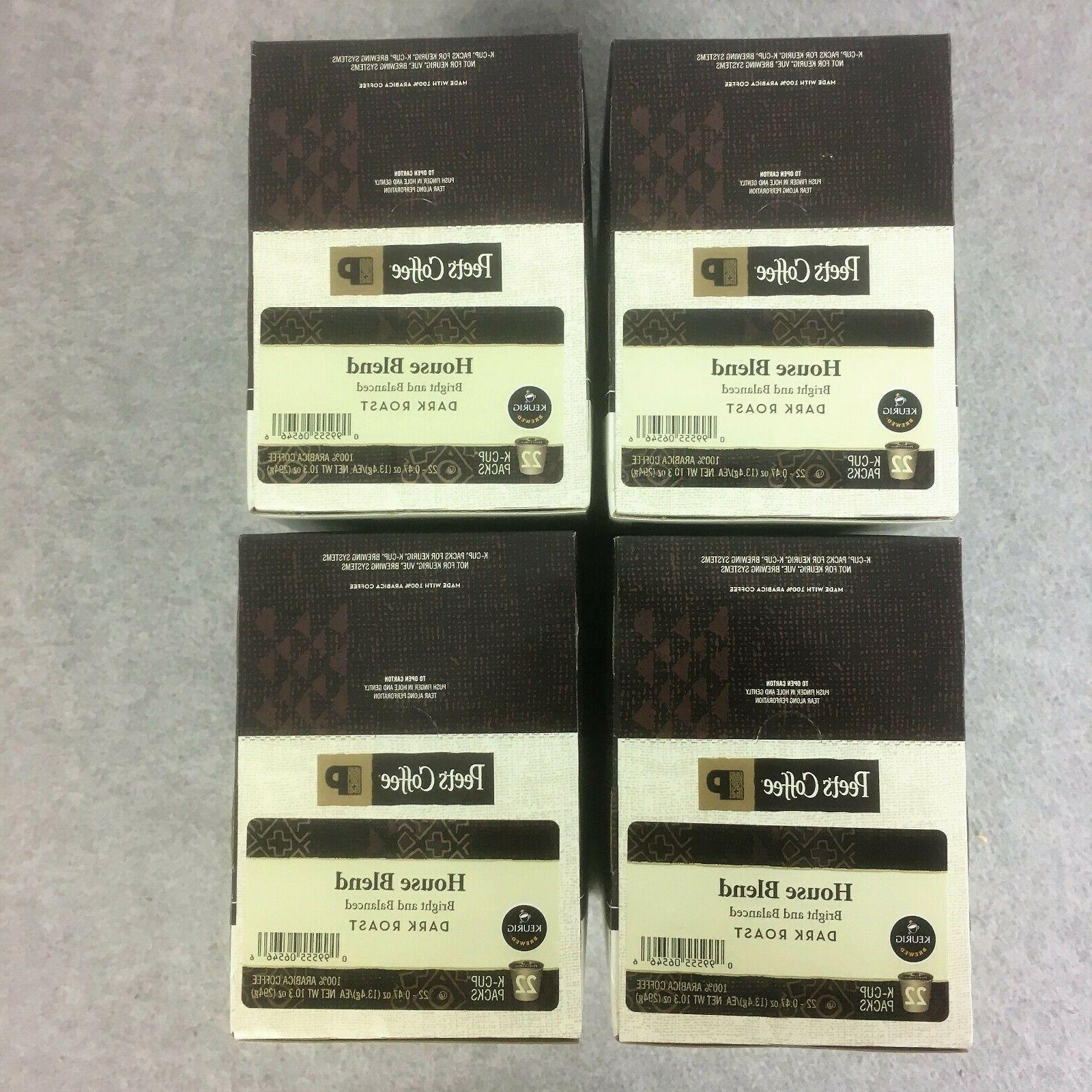 Peet's Coffee Dark Roast Coffee 88 Keurig K Cups