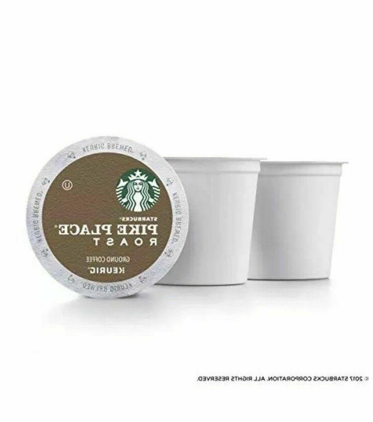 Starbucks Pike Place Coffee K-Cups 72 Count Fresh