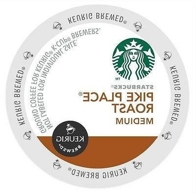 Starbucks Pike Place K-Cups For Keurig Brewers - 96 Count Pa