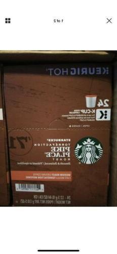 Starbucks Pike Place Medium Roast Coffee K-Cups - 96 K Cups