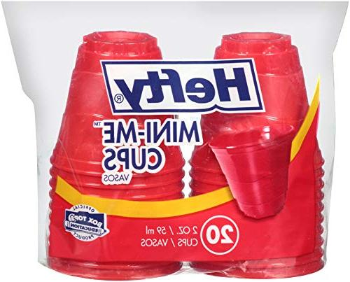 plastic mini party cups