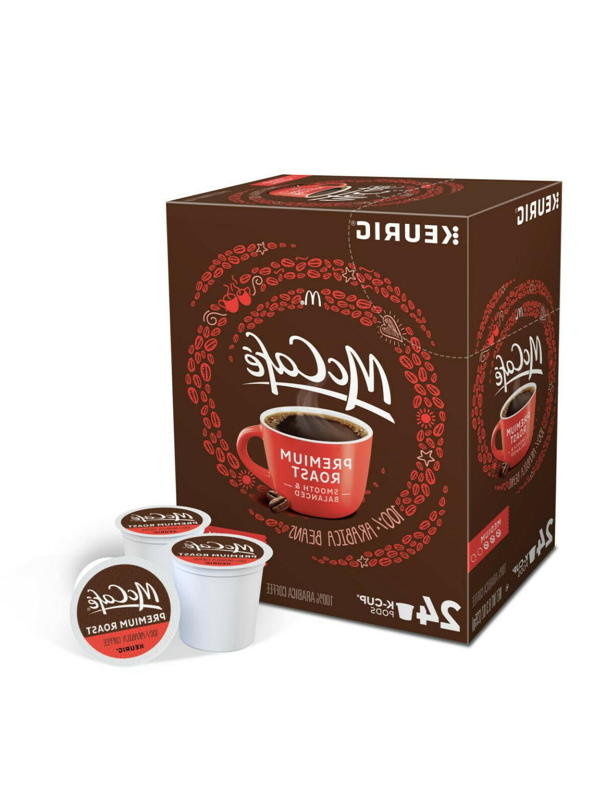 premium roast medium keurig k cups coffee