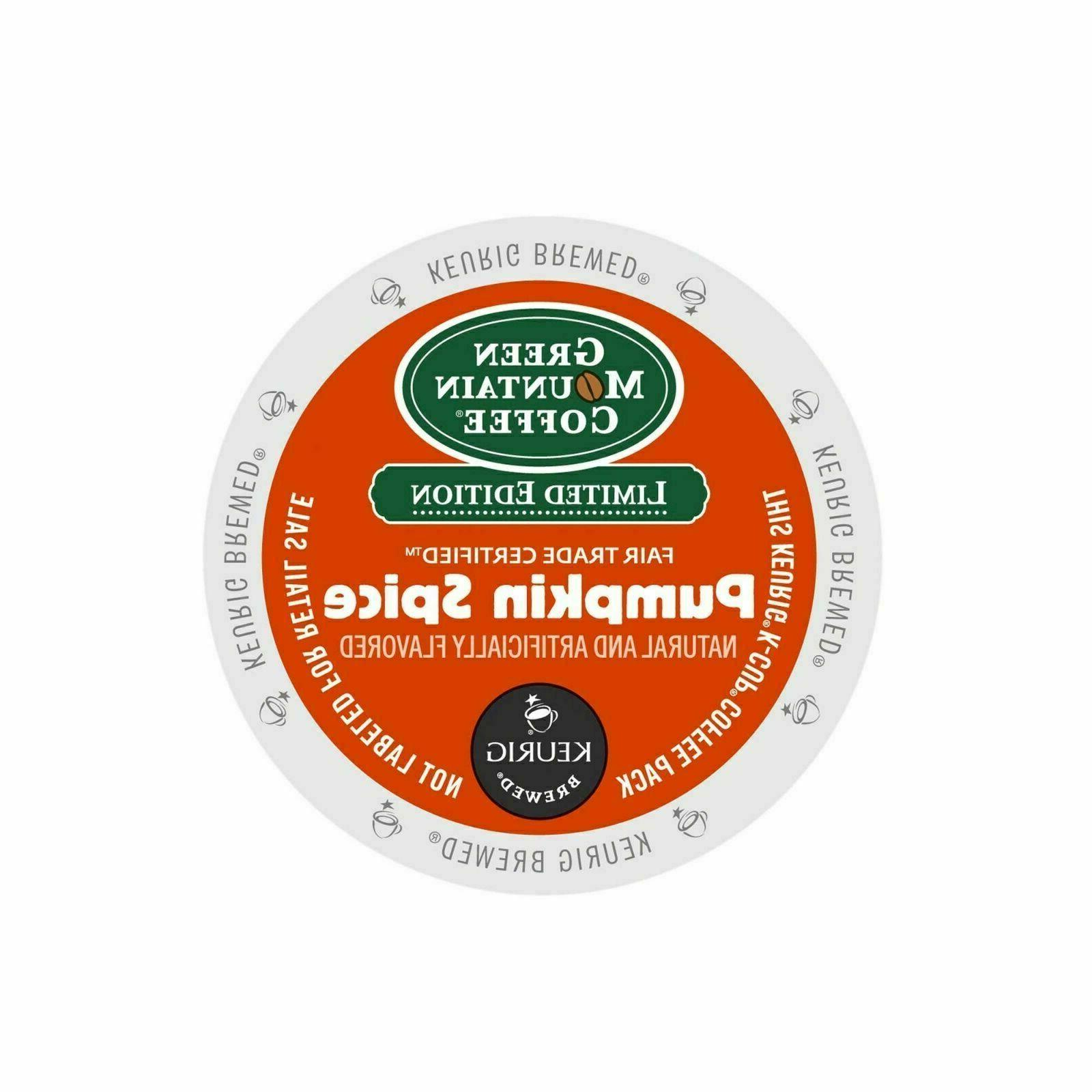 Green Mountain Pumpkin Spice K-Cup, 24, 48 or 96 K-Cups -FRE
