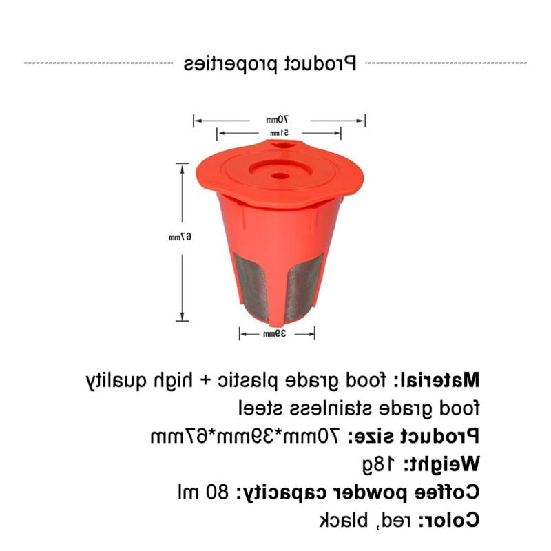 Refillable Reusable <font><b>K</b></font> <font><b>Cup</b></font> 2.0, K200, K400, K500 Series Brewing