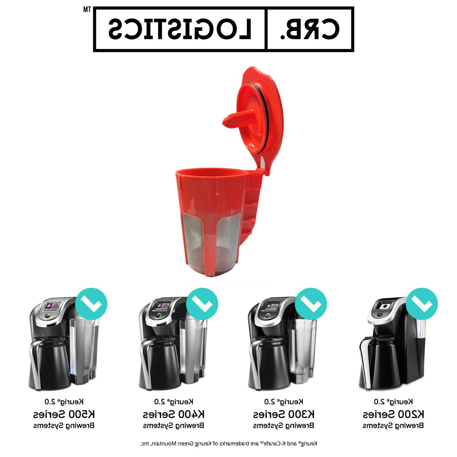 Refillable Carafe Coffee Fits Keurig Coffee