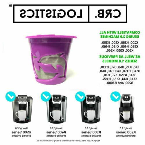 Refillable K-Cups Filter for Keurig 2.0/1.0 Coffee