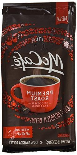 McCafe Premium Roast Medium Ground Coffee, 12 oz