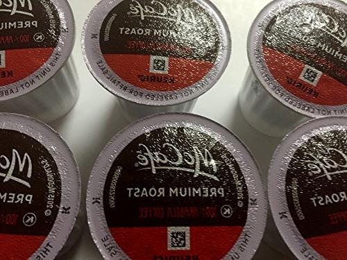 McCafe Premium Medium Roast K-Cup Packs - 84 Count