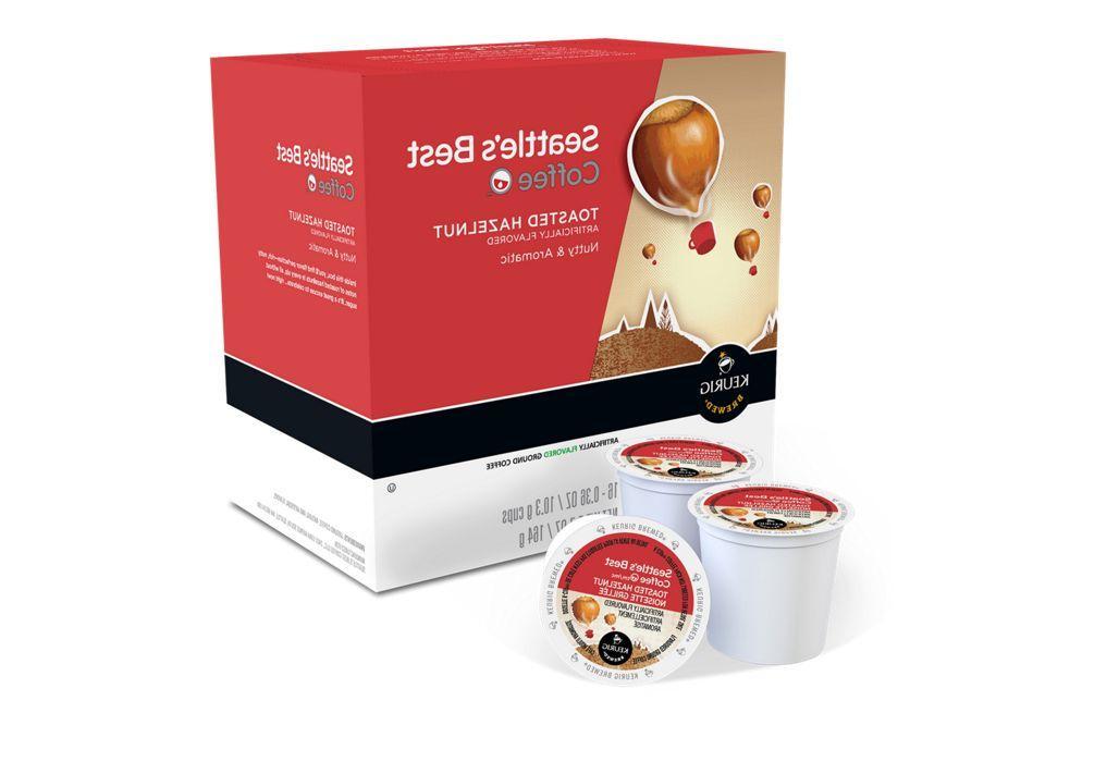 Seattle's Best Toasted Hazelnut Coffee Keurig K Any Size