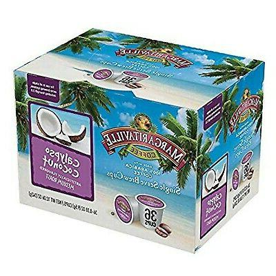 single serve brew cups calypso coconut 36
