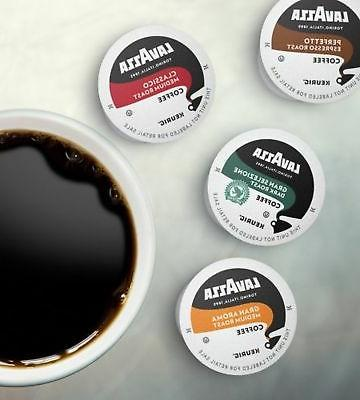 Lavazza K Cups for Brewer, Roast, Selezi...