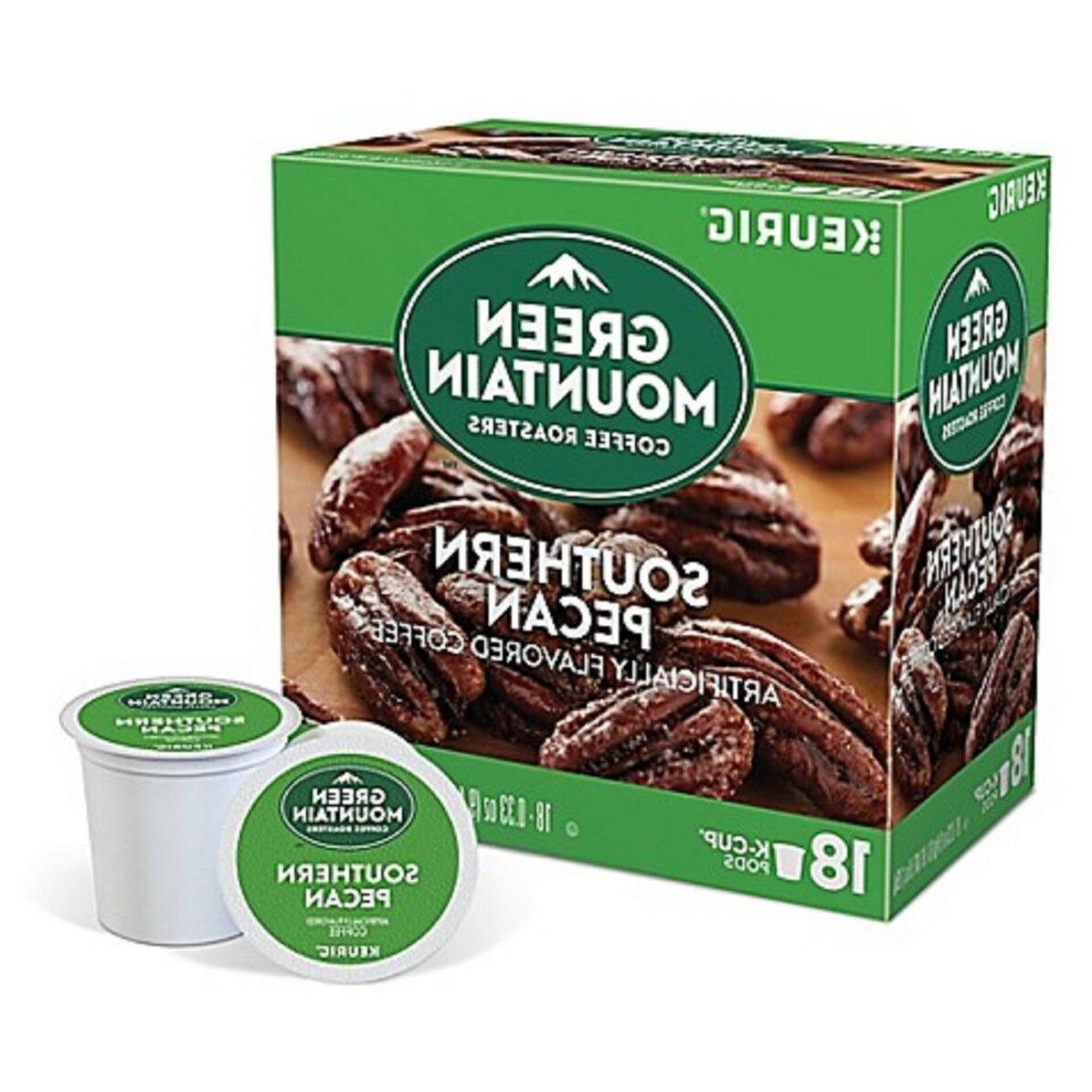 Green Mountain Southern Pecan Coffee Keurig K-Cups - 18 Coun