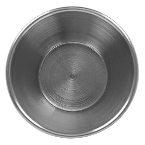 Stainless Sauce Cups oz, Grade Dipping Individual / Tezzorio