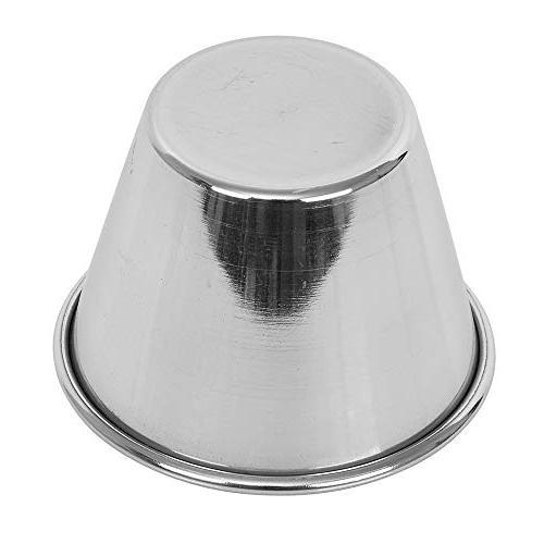 Steel Cups 2.5 oz, Grade Sauce Cups, Individual / Ramekins by