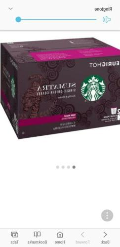 Starbucks Sumatra Coffee  NEW