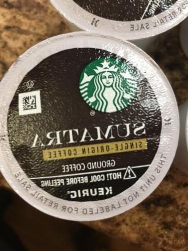 STARBUCKS SUMATRA COUNT LOOSE COFFEE