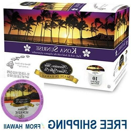 Hawaiian Isles Co DARK K-Cups Single Brew Keurig*