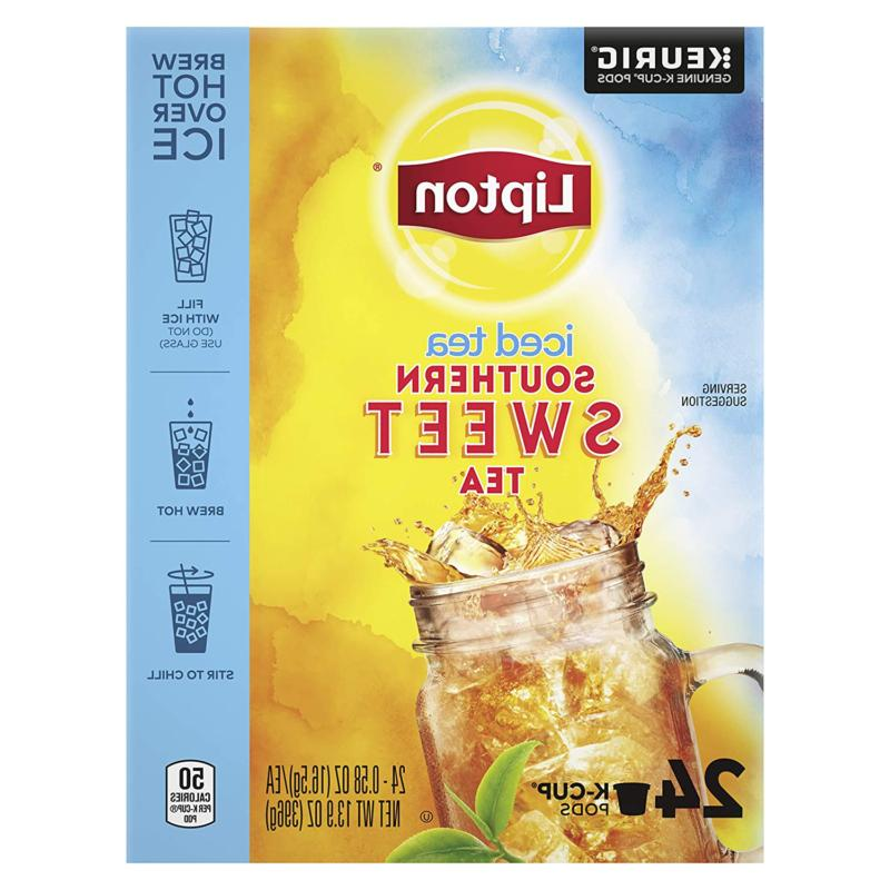 Lipton Tea K Cups With Real Tea Leaves  For a Cold Beverage