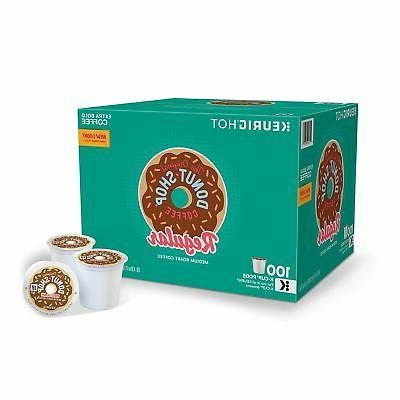 The Original Donut Shop 100 K-Cups Green Mountain Coffee Med